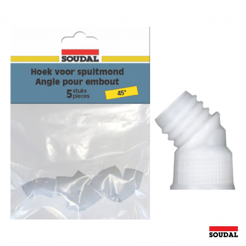 Soudal 45 Degree Connectors - Pack of 5